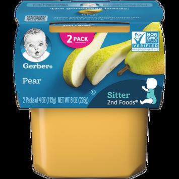 Gerber 2nd Foods Pear Baby Food - 4oz (2ct)