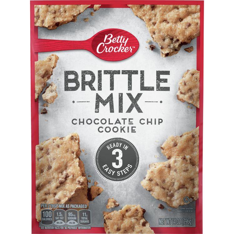 Betty Crocker Chocolate Chip Cookie Brittle Mix