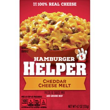 Hamburger Helper Cheddar Cheese Melt, 4.7 oz