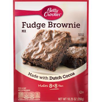 Betty Crocker Fudge Brownie Mix, 10.25 oz