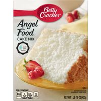 Betty Crocker Super Moist Angel Food Cake Mix, 16 oz