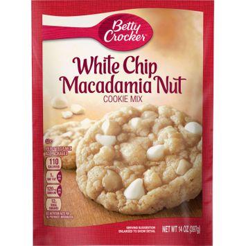 Betty Crocker White Chip Macadamia Nut Cookie Mix, 14 oz