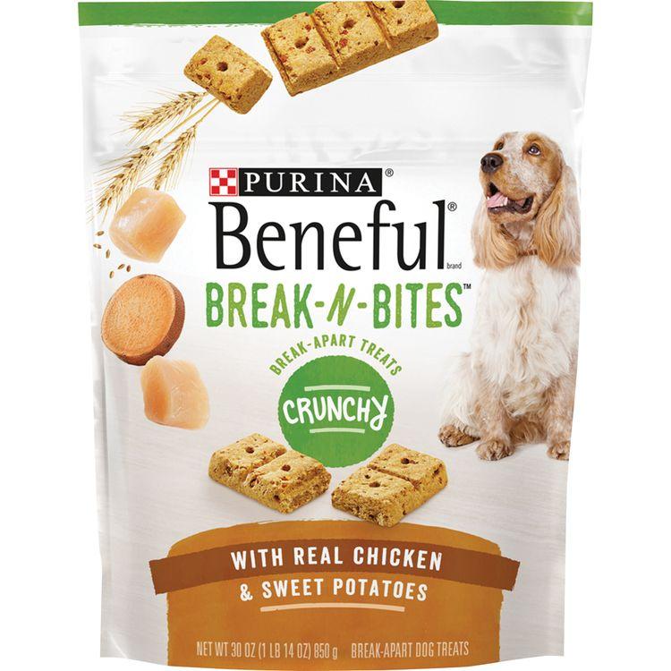 Purina Beneful Break-N-Bites Crunchy With Real Chicken & Sweet Potatoes Dog Treats -