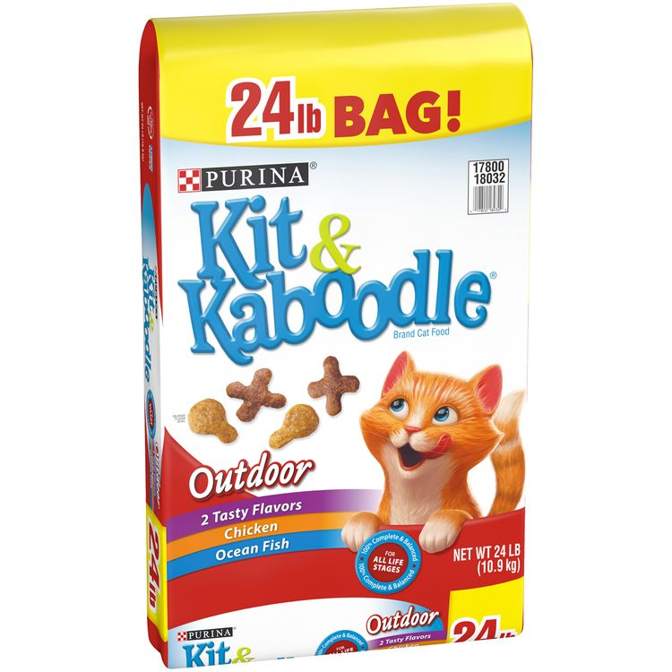 Purina Kit & Kaboodle Outdoor Adult Dry Cat Food