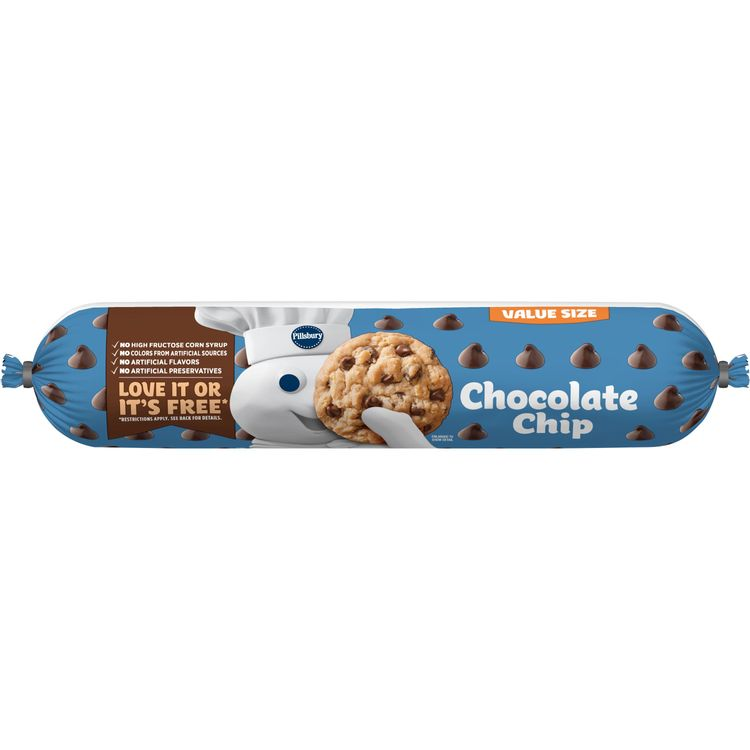 Pillsbury Chocolate Chip Cookie Dough Value Size 30 Oz Reviews 2021