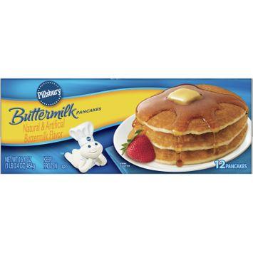 Pillsbury Buttermilk Pancakes Frozen Breakfast, 16.4 oz