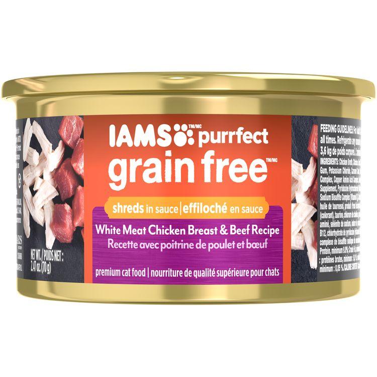 Iams™ Purrfect Grain Free™ White Meat Chicken Breast & Beef Recipe Premium Cat Food