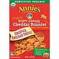 Annie's Extra Cheesy Cheddar Bunnies Snack Crackers Cheddar Bunnies, 7.5 oz