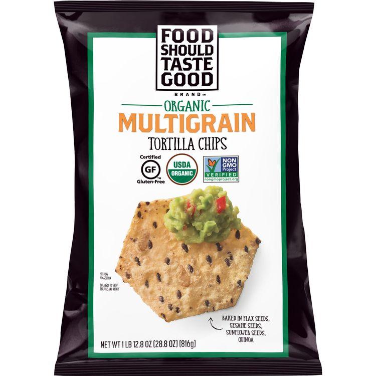 Food Should Taste Good Organic Multigrain Tortilla Chips