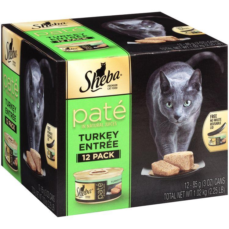 Sheba® Turkey Entrée Paté In Natural Juices Premium Cat Food