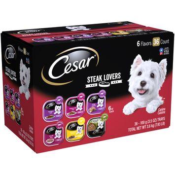 Cesar® Steak Lovers Canine Cuisine Variety Pack