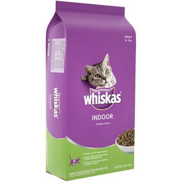Whiskas® Chicken Flavor Indoor Cat Food
