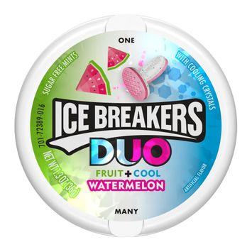 ICE BREAKERS DUO Mints Watermelon, 1.3 oz
