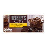 Hershey'S Semi-Sweet Chocolate Baking Bar, 4 Oz