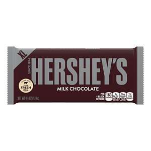 Hershey'S Milk Chocolate Xl Bar, 4.4 Oz