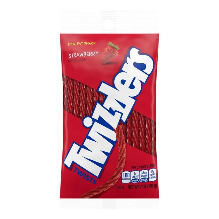 TWIZZLERS Strawberry Twists Peg Bag, 7 oz