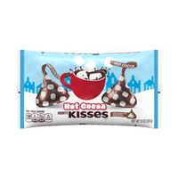 Hershey's Kisses Holiday Hot Cocoa Milk Chocolate Candy, 10 oz bag