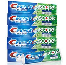 Crest Complete Whitening + Scope Toothpaste ( 6.5 oz, 5 pk.)