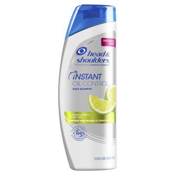 Head & Shoulders Paraben Free Instant Oil Control Anti-Dandruff Shampoo