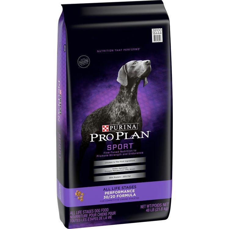 Purina Pro Plan High Protein Dry Dog Food, SPORT Performance 30/20 Formula