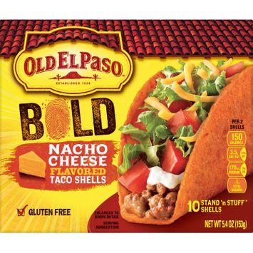Old El Paso Stand 'N Stuff Bold Nacho Cheese Flavored Shells, 5.4 oz