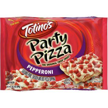 Totino's Pepperoni Party Pizza, 10.2 oz