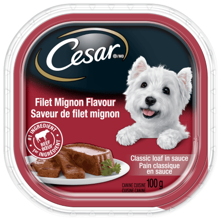CESAR ®  Classic Loaf in Sauce: Filet Mignon Flavour 100g