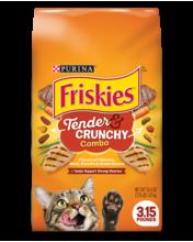 Friskies Tender & Crunchy Combo Dry Cat Food