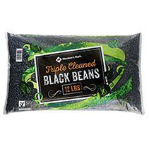 TRIPLE CLEANED BLACK BEANS