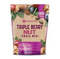 TRIPLE BERRY NUT TRAIL MIX, TRIPLE BERRY