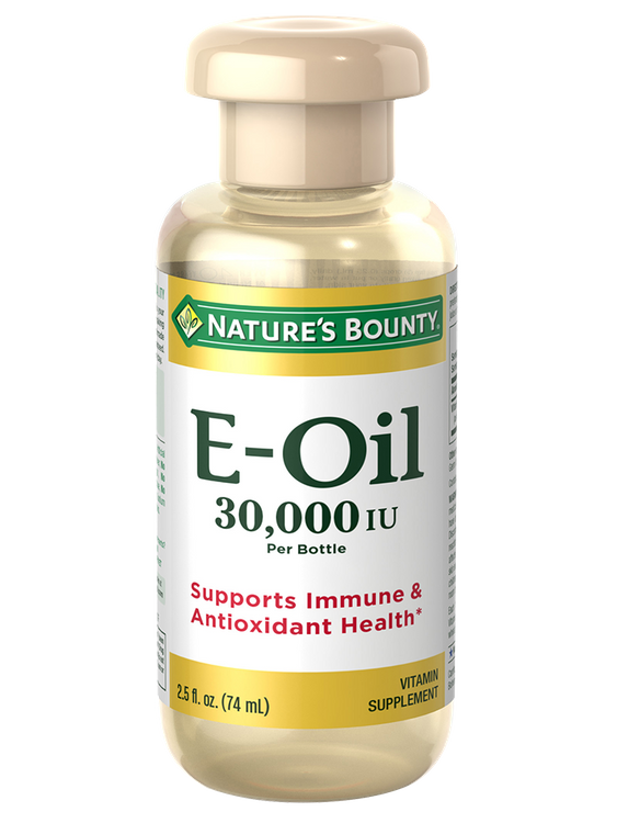 Natures Bounty Vitamin E Oil 30,000 IU per bottle 2.5 fl. oz.