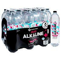 Member's Mark Plus+ Alkaline Water (18 pk, 1 L)