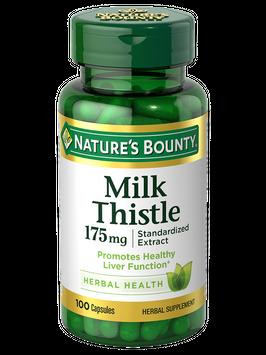 Natures Bounty Milk Thistle 175 mg 100
