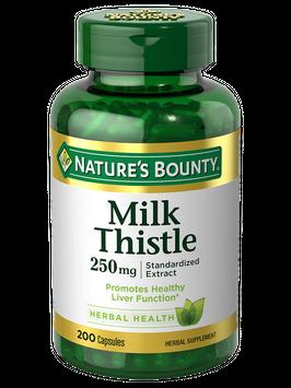 Natures Bounty Milk Thistle 250 mg 200