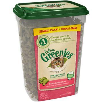 Feline Greenies™/MC Savory Salmon Flavor Cat Dental Treats