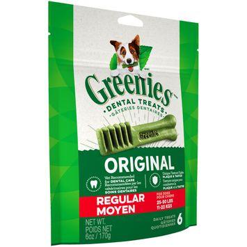 GREENIES Original Regular Size Dog Dental Treats