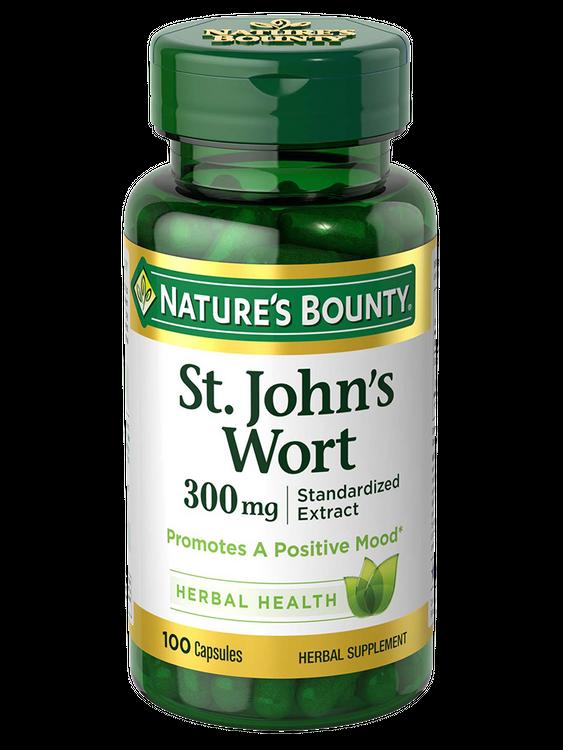 Natures Bounty St. Johns Wort 300 mg 100
