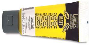 Liquitex Basics Matt Acrylics, 432 Titanium White, 75 ml