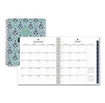 Blue Sky 2020 Monthly Planner, Flexible Cover, Twin-Wire Binding, 8
