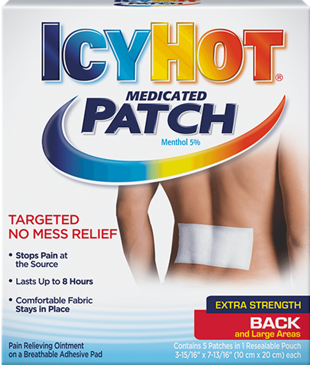 Icy Hot® Back Patch