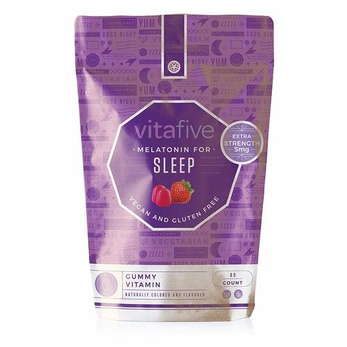 Vitafive Melatonin For Sleep Gummy 60ct Reviews 2020