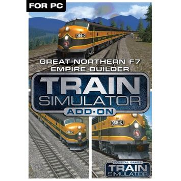 Dovetail Games Train Simulator Add-On - Great Northern F7 Empire Builder (PC)(Digital Download)