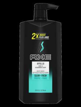 Axe Apollo 2-In-1 Shampoo + Conditioner Pump