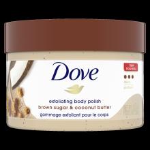 Dove Brown Sugar & Coconut Butter Deep Exfoliating Body Polish