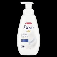 Dove Instant Foaming Body Wash Deep Moisture