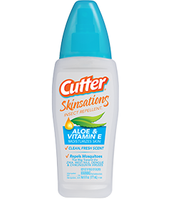Cutter Skinsations Insect Repellent Pump Spray