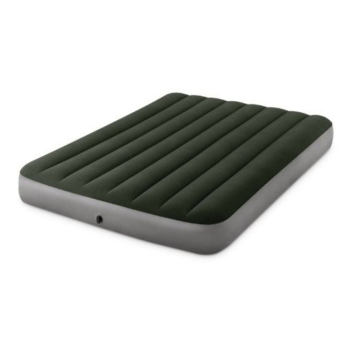 """Intex Full 10"""" DuraBeam Expedition Airbed Mattress with Battery Pump"""