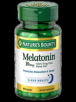 Natures Bounty Melatonin 10 mg 60