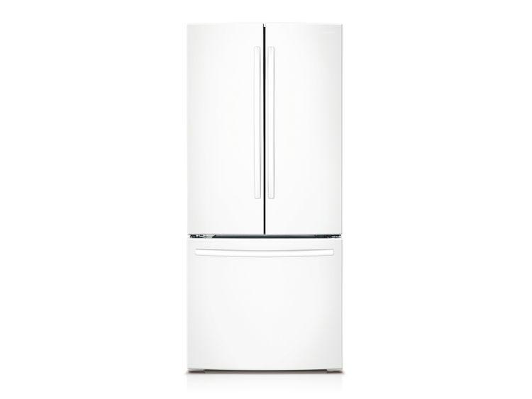 Samsung 22 cu. ft. French Door Refrigerator in White