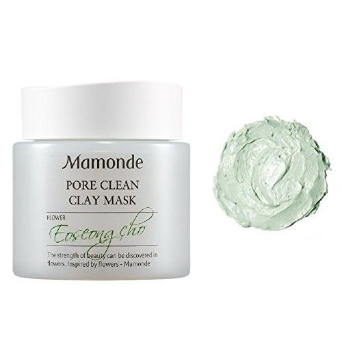Mamonde Pore Clean Clay Mask Travel Size 0.84 oz